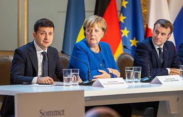 Эксперт: Парижская битва за Донбасс закончилась дипломатическим успехом Киева
