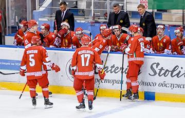 Молодежная сборная Беларуси в овертайме уступила Латвии