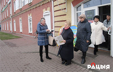 """REP Trade Union Leader In Biaroza: I Am Glad That Belarusians Want """"To Be Called People"""""""