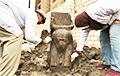 Недалеко от Гизы обнаружили уникальную статую фараона Рамзеса II