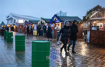 В Минске открылись две центральные рождественские ярмарки