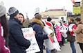 Яскравыя фота з акцыі ў абарону незалежнасці Беларусі