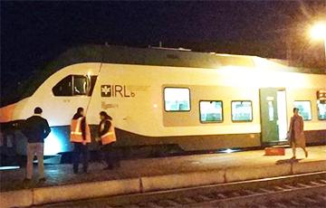 «Было две вспышки»: Из поезда «Минск-Гомель» эвакуировали людей