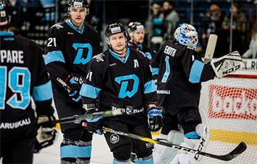 Минское «Динамо» впервые в истории заняло последнее место в КХЛ