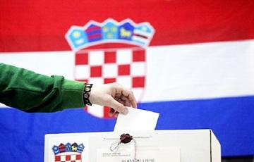 Правящая партия побеждает на парламентских выборах в Хорватии