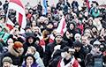 «Беларусы мяне масава падтрымліваюць»