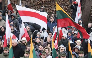 В Литве проходит «Путь свободы» - акция солидарности с Беларусью