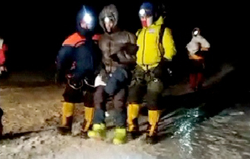 На Эльбрусе спасли белорусского альпиниста