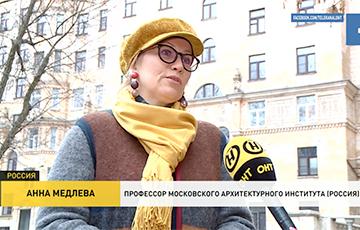 В сюжете госСМИ о бизнесе сербских друзей Лукашенко выступала фейковый профессор