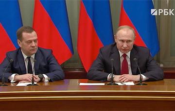 Губы дрожали, руки дергались: эмоции Медведева на увольнение