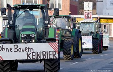 У нямецкія гарады вярнуліся трактарныя маршы пратэсту