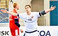 Беларускі гандбаліст уваходзіць у пяцёрку найлепшых бамбардзіраў ЧЕ-2020