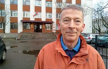 Витебского блогера Александра Дубровских осудили на 15 суток