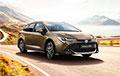 Toyota Corolla стала самым папулярным аўтамабілем 2019 года