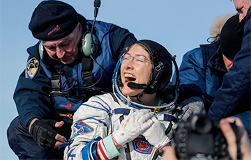 Американка установила рекорд непрерывного пребывания женщины в космосе