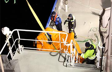 У побережья Эстонии затонуло российское судно