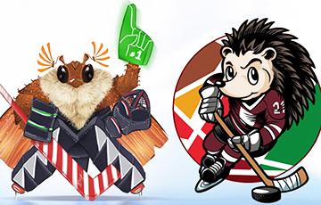 Хрущ победил в белорусском голосовании на талисман чемпионата мира по хоккею 2021