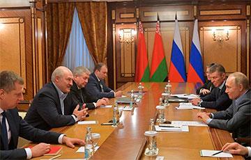 Lukashenka Asked Putin About Publications In Telegram Channels