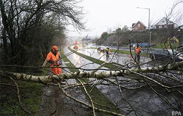 Страны западной и северной Европы накрыл ураган «Киара»