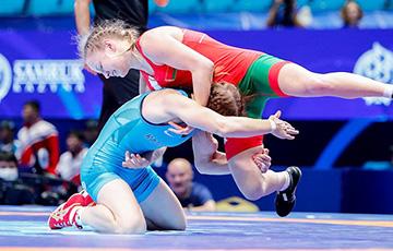 Ксения Станкевич выиграла бронзу ЧЕ по борьбе в категории до 50 килограмм