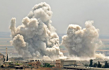 Турецких военных в Сирии атаковали с воздуха