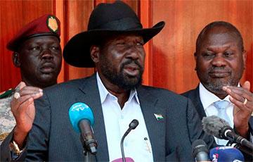 Вице-президентом Южного Судана стал бывший лидер вооруженной оппозиции
