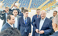 Ice Palace Lukashenka Visited In Egypt Appeared Fake