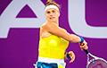 Арина Соболенко вышла в полуфинал теннисного турнира в Дохе