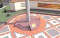 Гамельчукі масава пратэстуюць супраць узвядзення ў горадзе флагштока за 1,5 мільёна рублёў