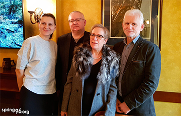 Belarusian Human Rights Defenders Meet With OSCE ODIHR Director