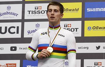 Белорусский велогонщик выиграл золото чемпионата мира