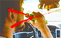 Відэафакт: п'яны кіроўца Nissan здзівіў яздой на АЗС пад Менскам