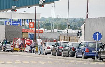 Нелегалы штурмуют белорусско-польскую границу0