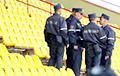 На беларускіх стадыёнах заўзятараў будуць правяраць не лекары, а супрацоўнікі міліцыі