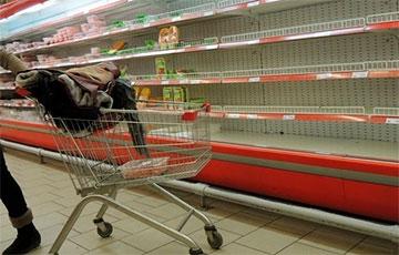 В России заявили об угрозе пустых полок в магазинах