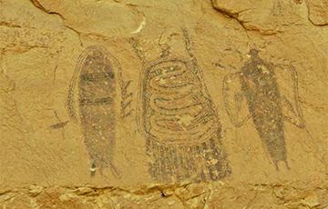 Британские археологи обнаружили изображение загадочного существа