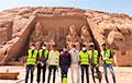 В Египте впервые за тысячи лет провели дезинфекцию пирамид