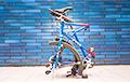 Американец изобрел велосипед со складными колесами