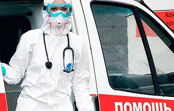 Video Fact: Medics Take Away Mahiliou Resident In Capsule