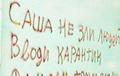 «Саша, не злуй людзей, уводзь карантын»