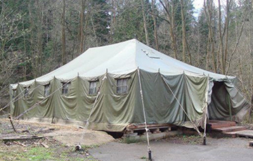 Military Deploy Field Hospital In Vitsebsk Region