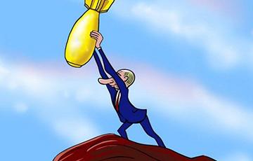 «Знаменитая ракета, о которой показывал мультфильм Путин, взорвалась на старте»