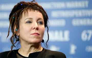 Нобелевская лауреатка Ольга Токарчук: Бесконечно восхищаюсь десятками тысяч протестующих белорусок