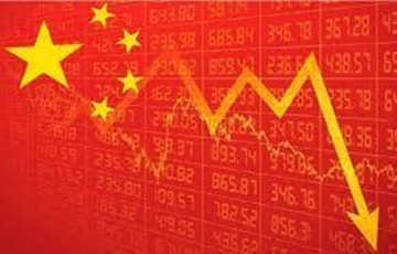 ВВП Китая упал почти на 37% из-за пандемии
