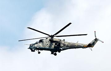 У Сірыі паведамілі пра падзенне расейскага гелікоптара і гібель пілота