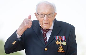 Британский 100-летний ветеран Том Мур, собравший миллионы для медиков, станет рыцарем