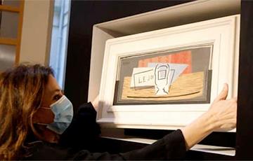 Итальянка выиграла картину Пикассо