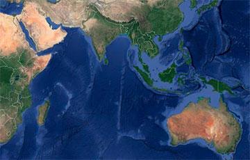 Ученые: Индо-Австралийская плита очень быстро разделяется на две части
