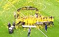 Видеофакт: На минском стадионе «Динамо» отвалилось слово «власть»