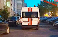 Ambulances Take People Infected With Coronavirus In Minsk At Night
